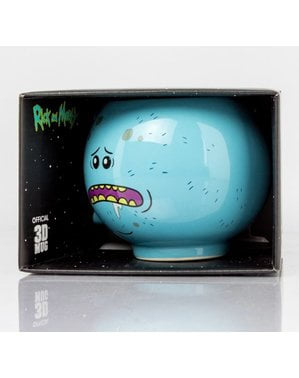 Caneca 3D de Rick and Morty Mr Meeseeks