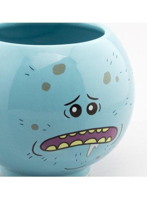Taza 3D de Rick y Morty Mr Meeseeks - barato