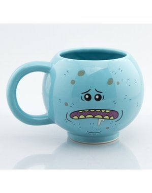 Taza 3D de Rick y Morty Mr Meeseeks