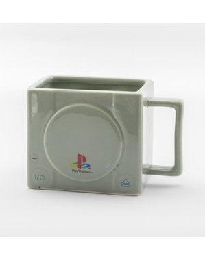 Caneca 3D de Playstation Consola