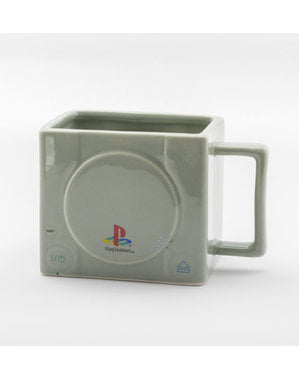 PlayStation konsol 3D krus