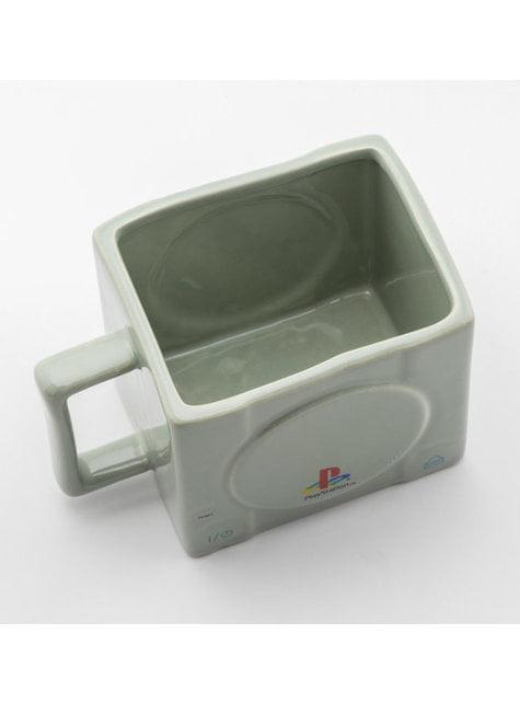 Taza 3D de Playstation Consola - oficial