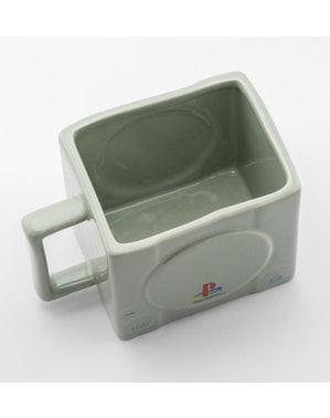 Cană 3D Playstation Consola