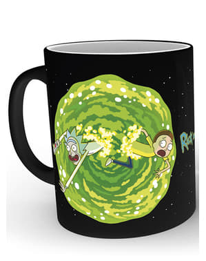 Rick and Morty Portal colour-changing mug