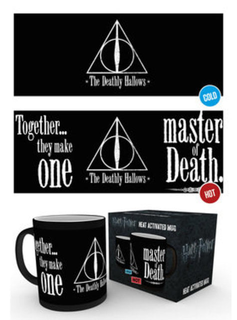 Harry Potter and the Deathly Hallows colour-changing mug
