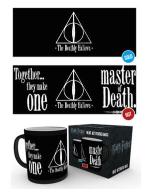 Taza de Harry Potter Reliquias cambia color