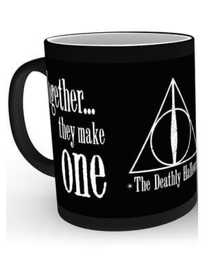 Caneca de Harry Potter Talismãs muda de cor