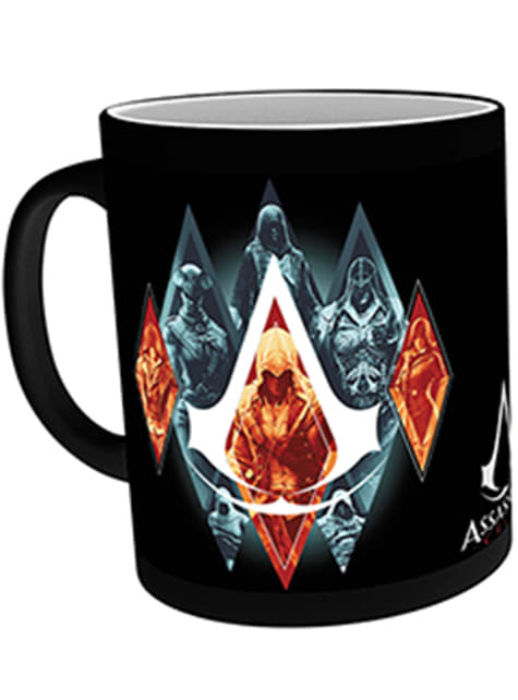 Taza de Assassin's Creed Legacy cambia color
