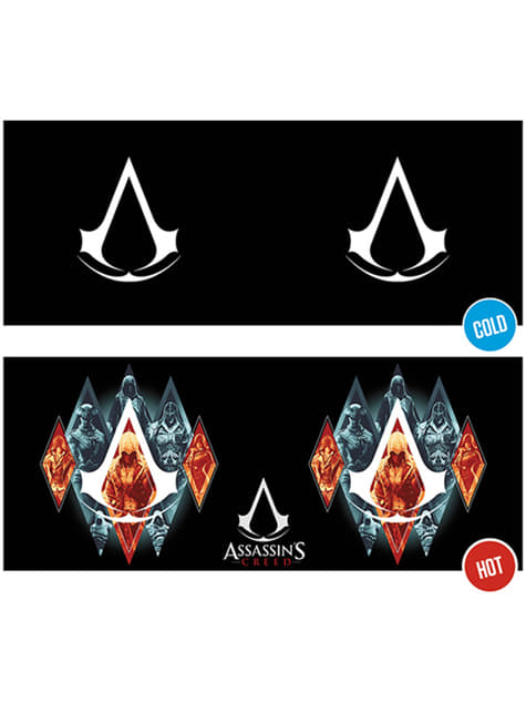 Taza de Assassin's Creed Legacy cambia color - oficial