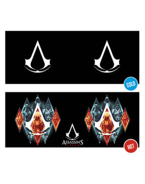 Cană Assassin's Creed Legacy schimbă culoarea