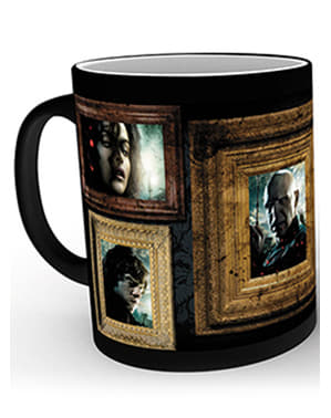Taza de Harry Potter Retratos cambia color