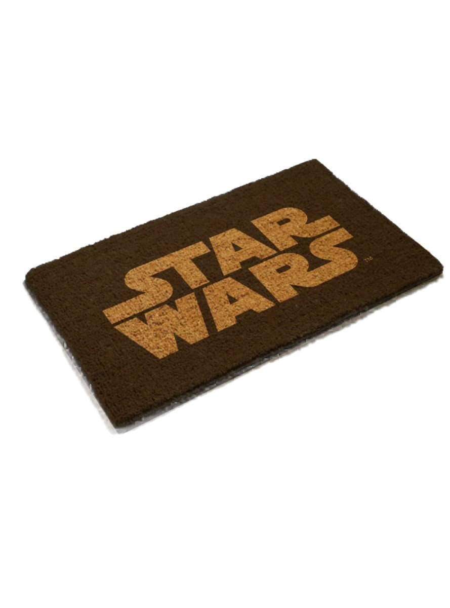 paillasson star wars logo pour les vrais fans funidelia. Black Bedroom Furniture Sets. Home Design Ideas