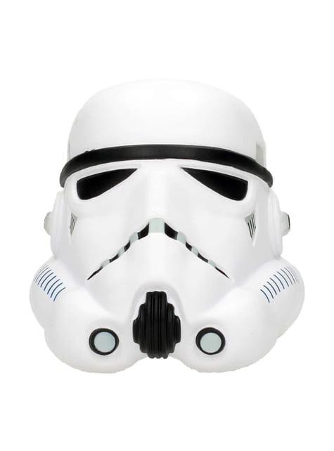 Figura antiestrés casco de Stormtrooper Star Wars 9 cm