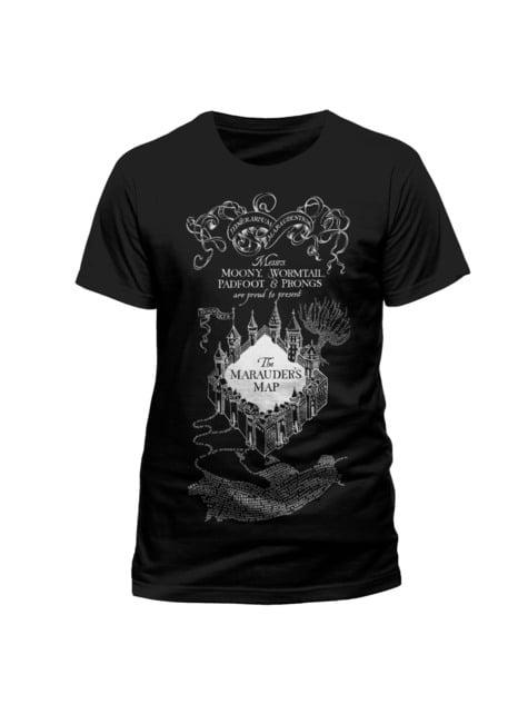 Camiseta de Mapa del Merodeador Harry Potter para adulto