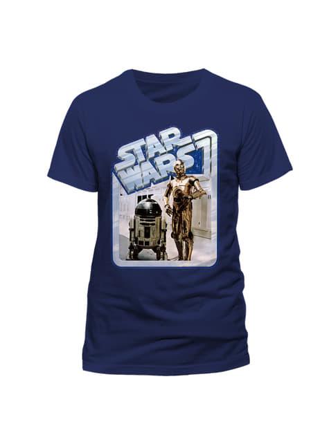 Koszulka Gwiezdne Wojny Androidy retro