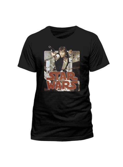 Han Solo Retro unisex t-shirt