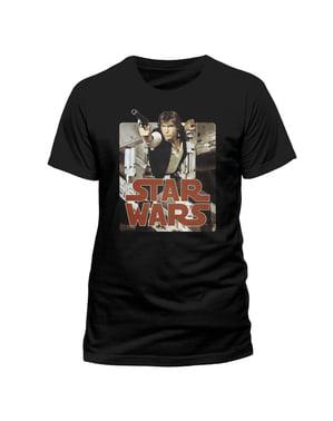 Camiseta de Han Solo retro