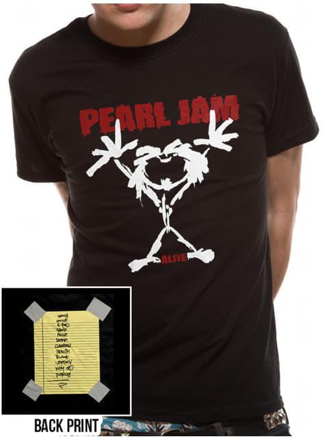 T-shirt de Pearl Jam Stickman