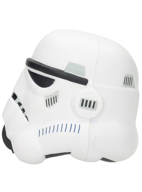 Figura antiestrés casco de Stormtrooper Star Wars 9 cm - oficial
