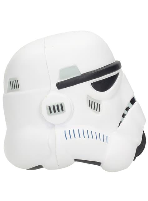 Figura antiestrés casco de Stormtrooper Star Wars 9 cm - comprar