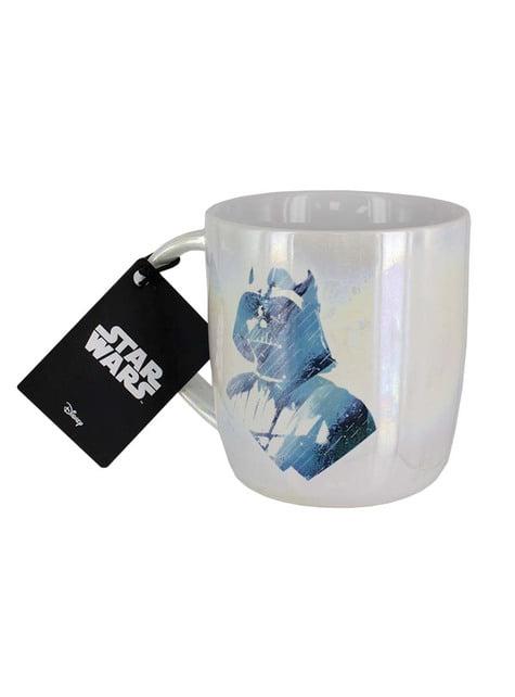 Taza de Star Wars Darth Vader Rostro y Logo