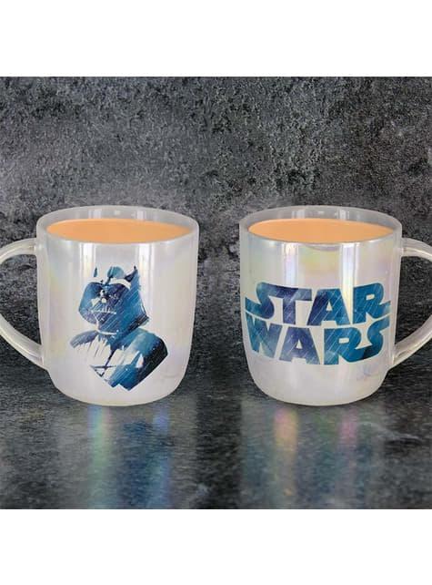 Taza de Star Wars Darth Vader Rostro y Logo - barato