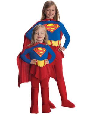 Mädchenkostüm Supergirl Classic