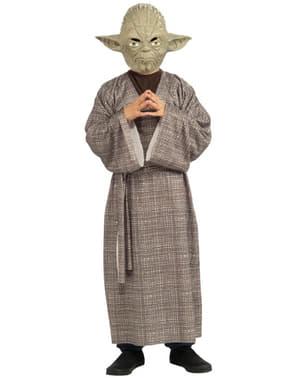 Costum Maestrul Yoda deluxe pentru băiat