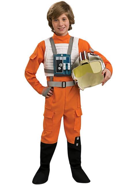 X-Wing Pilot Maskeraddräkt Barn