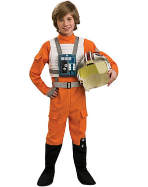 X-Wing Pilot Kids Costume