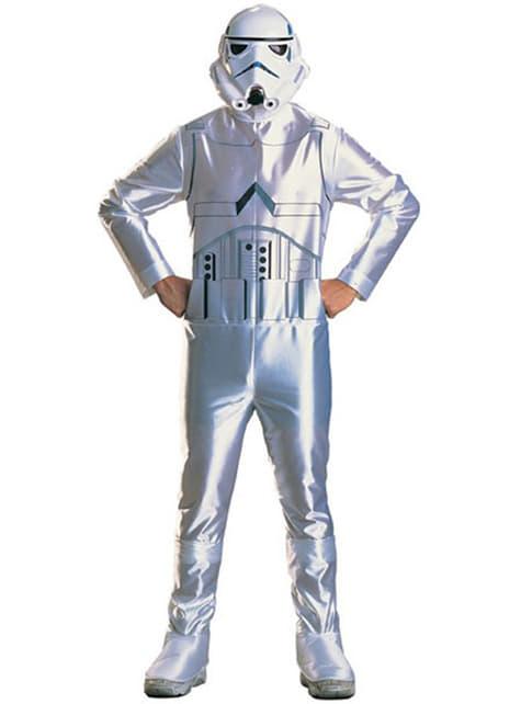 Disfraz de Stormtrooper adulto económico
