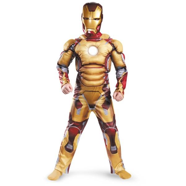 Incluye mono con brazos y pecho musculado, reactor LED luminoso y