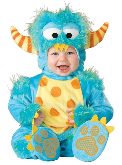Maskeraddräkt litet monster för bebis