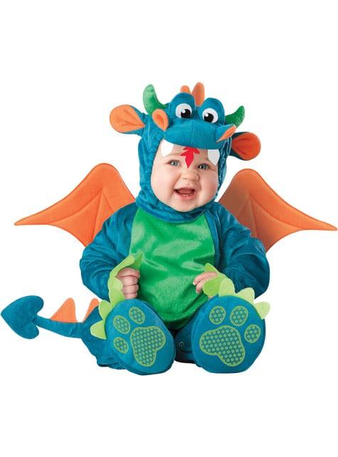 Drac Dragon jelmez (Kisgyermek)