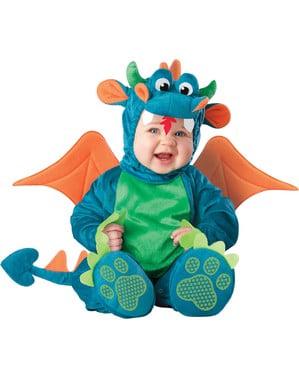 Dragen Draco kostume til babyer