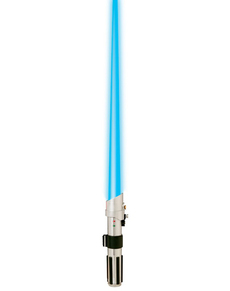 Anakin og Luke Skywalker lyssværd