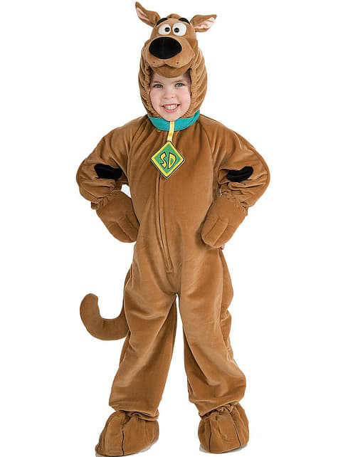 Déguisement de Scooby-Doo haut de gamme garçon