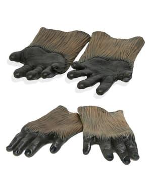 Latex Chewbacca Hände aus Star Wars