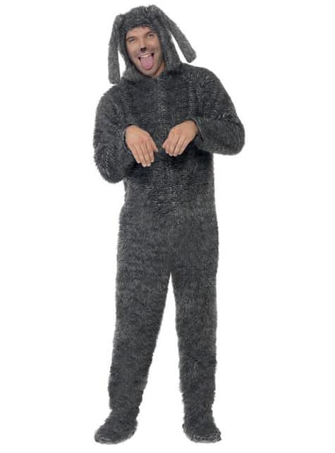 Bedårende hunde kostyme voksen