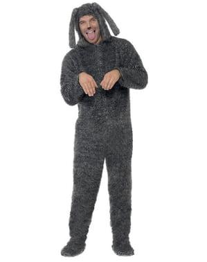 Tiggende hund kostume