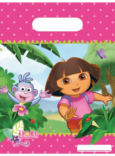 Zestaw woreczków Dora Poznaje Świat