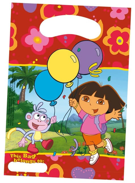 6 borse Dora's Party