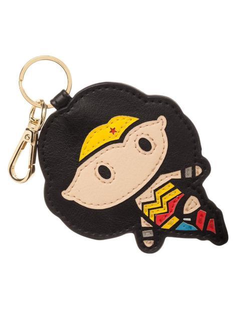 Porta-chaves de Wonder Woman Chibi