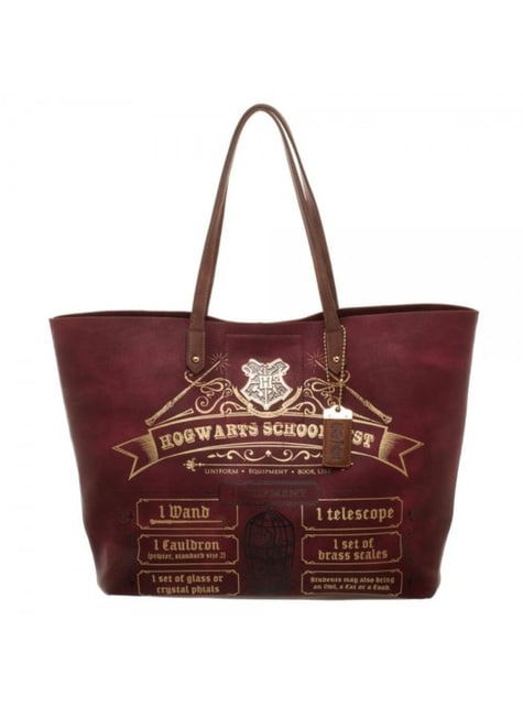 Sac à main grand modèle Harry Potter Liste