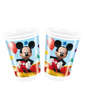 Sada pohárov Mickeyho Klubík