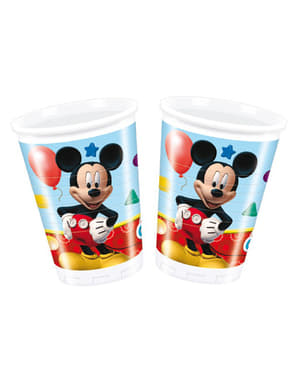 8 pahare Mickey Mouse Clubhouse - ClubHouse