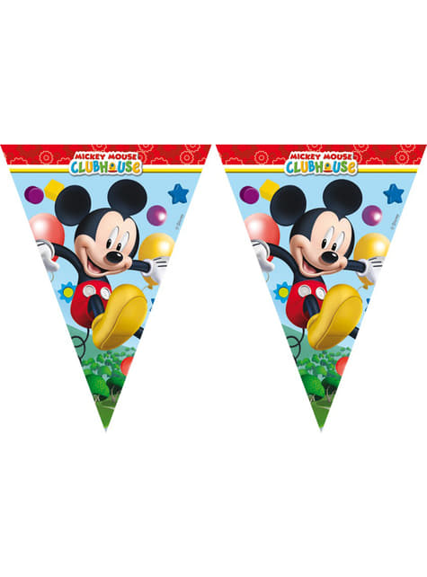 Mickey Mouse Clubhouse Streamer - Clubhouse
