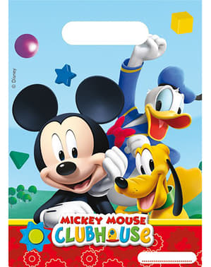 6 sacos Mickey Mouse Clubhouse - Clubhouse