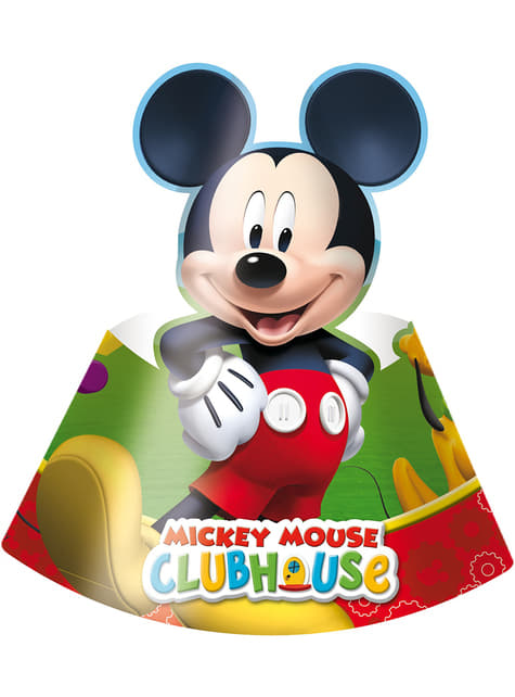 6 sombreros Mickey Mouse - ClubHouse