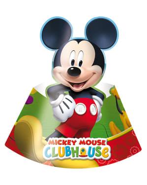 Lot de chapeaux de fêtes Mickey Mouse Clubhouse